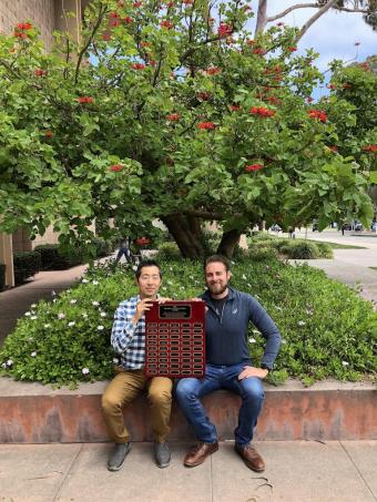 Kimin Eom and Phillip Ehret Awarded McClintock Award